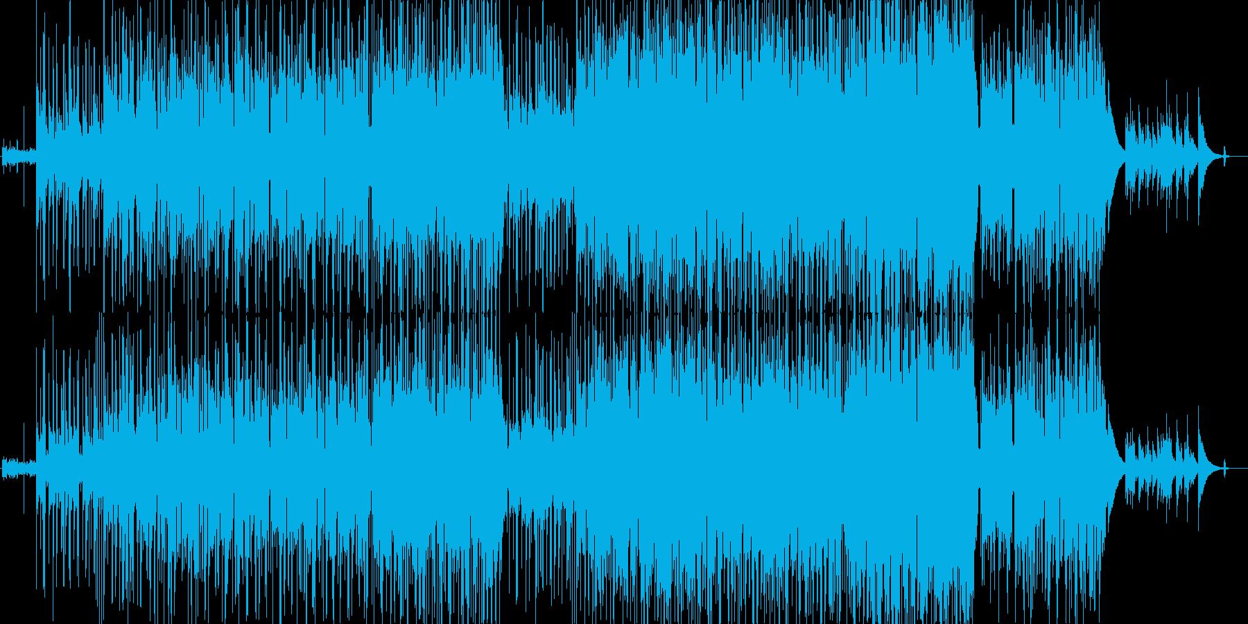 優しく和む感動的なポップス アコギの再生済みの波形