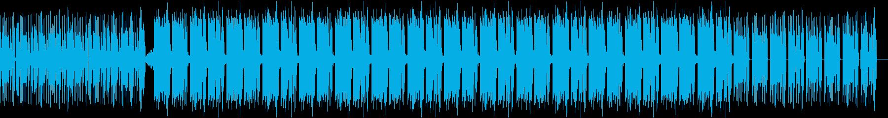 ホラーやミステリーなどの動画のBGMに!の再生済みの波形