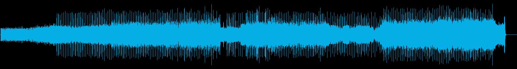 レトロPC風 2000X年、夢の近未来の再生済みの波形