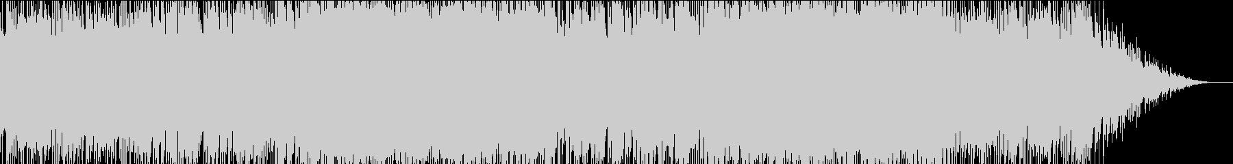 まったりとした日常系BGMの未再生の波形