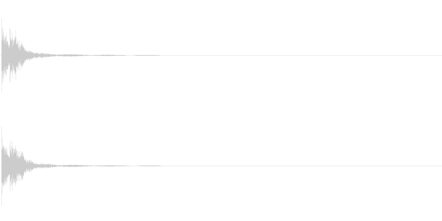 【ドドン!】太鼓_14の未再生の波形