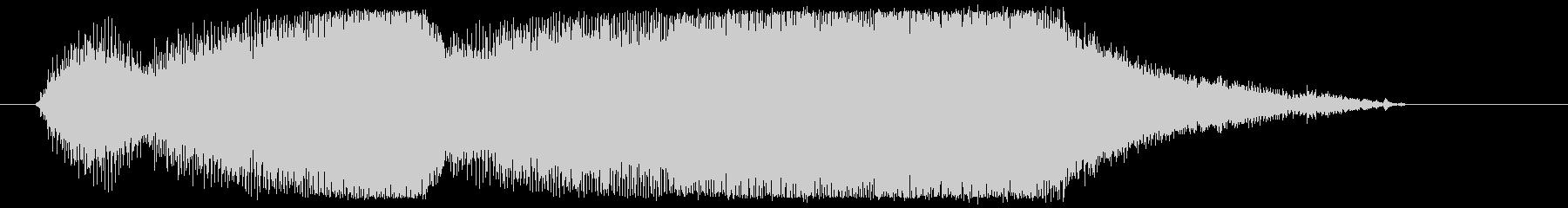 チェーンソーやバイクのエンジン音2の未再生の波形