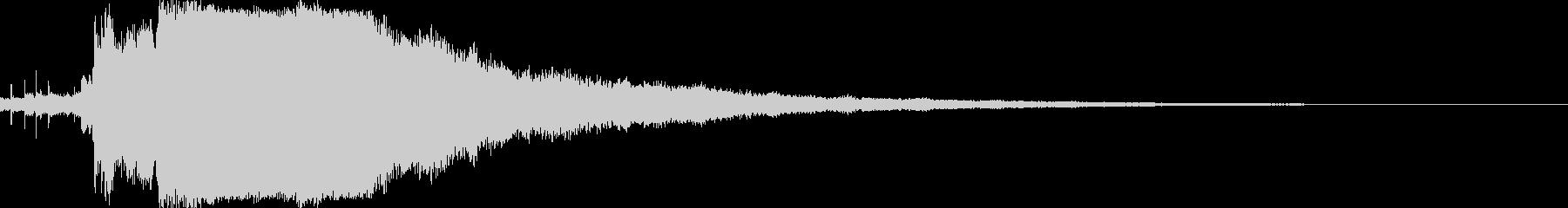 シャキーン♪クリア,達成,回復等に12bの未再生の波形