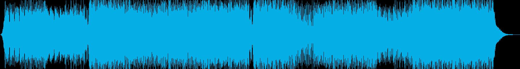 コマーシャルハウスディープの再生済みの波形