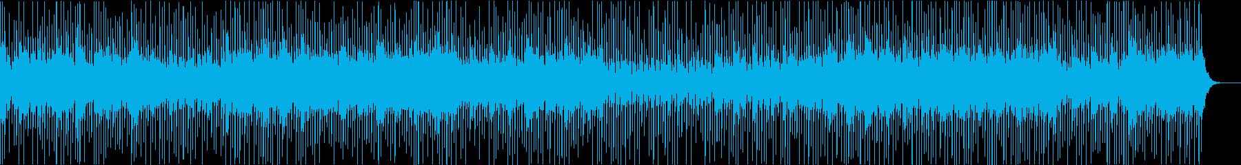 ダークなテクスチャーサウンド・ビート無しの再生済みの波形