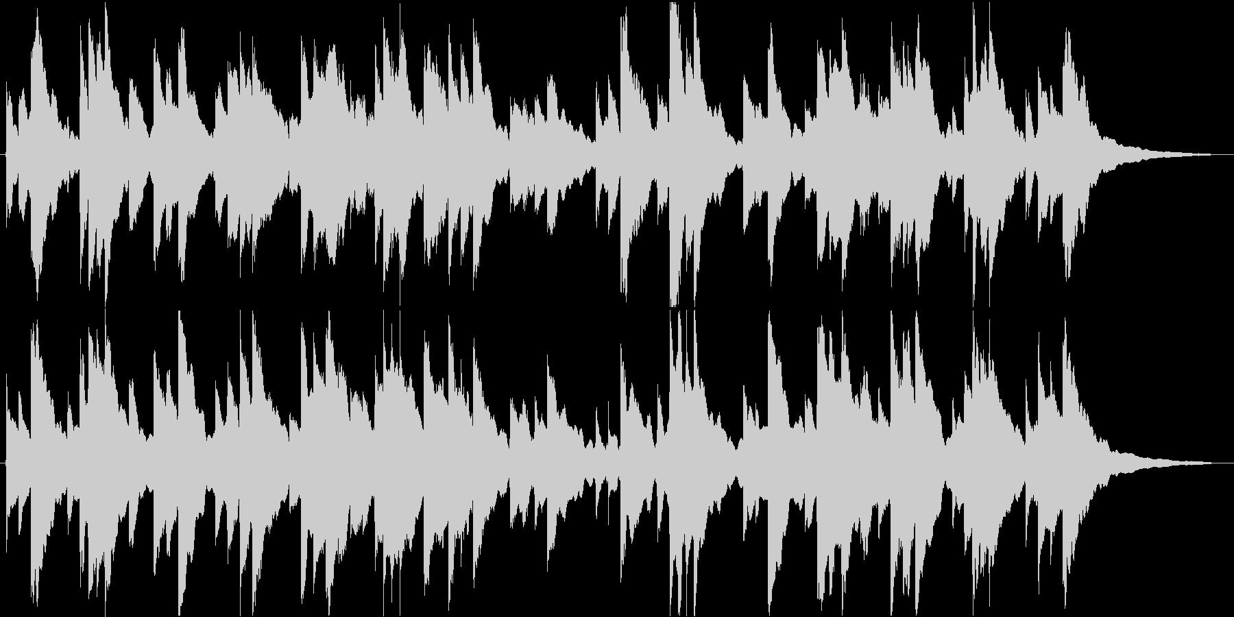 ✋アメイジンググレイス【オルゴール】✋の未再生の波形