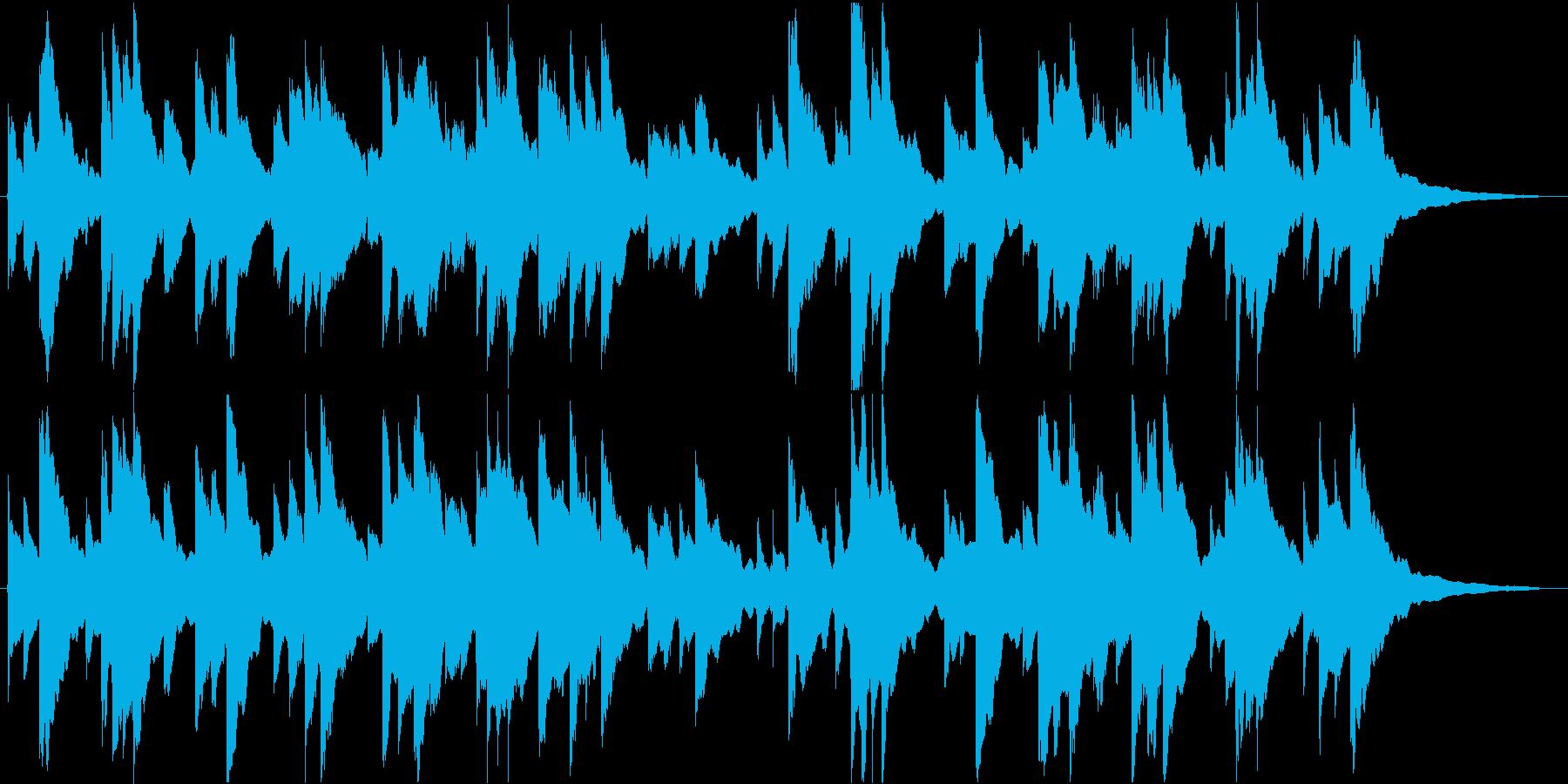 ✋アメイジンググレイス【オルゴール】✋の再生済みの波形