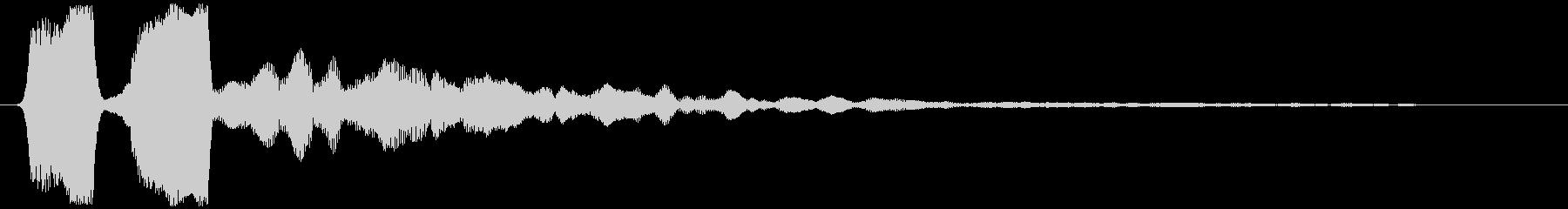 ソナー (戦闘艦、戦闘機等) ピィッッ…の未再生の波形