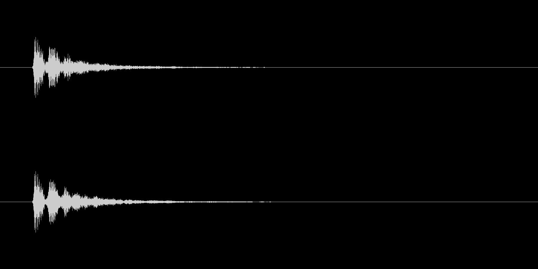 【サイバー18-2】の未再生の波形