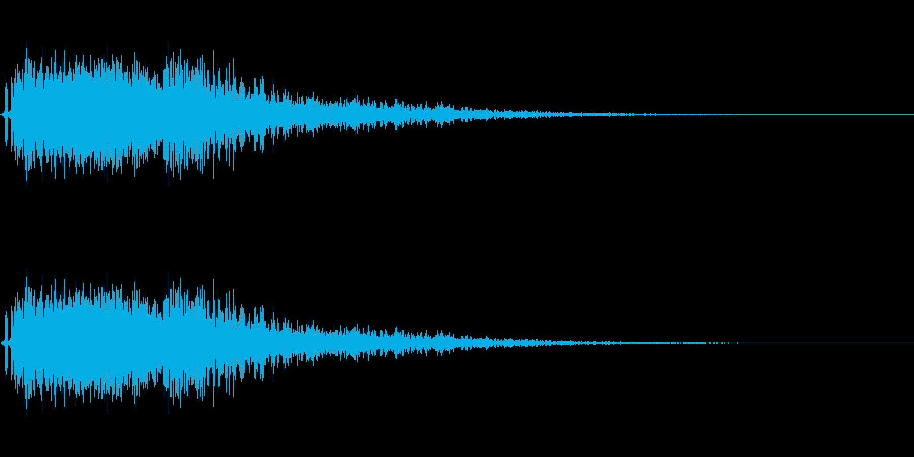 爆発音。電流系爆破。の再生済みの波形