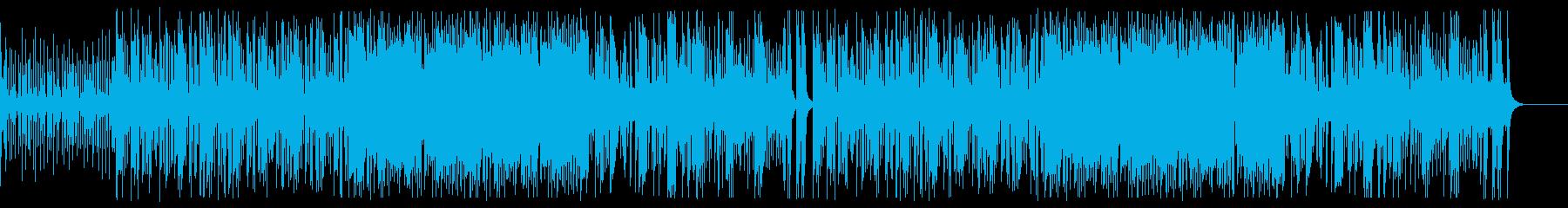 ☄☄☄✌✌✌コミカルなレゲエ・ファンクの再生済みの波形