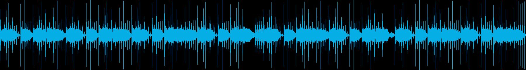【RHYTHM】アングラ系HIPHOPの再生済みの波形