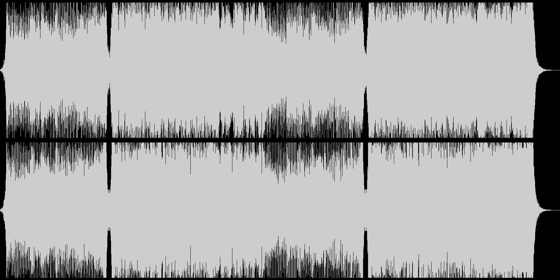 オーケストラ4つ打ちコーラス 疾走感の未再生の波形