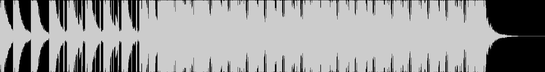テンションコードを使った癒し系サウンドの未再生の波形