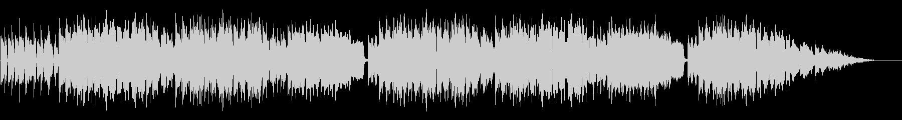 日常系ゆるいBGMの未再生の波形