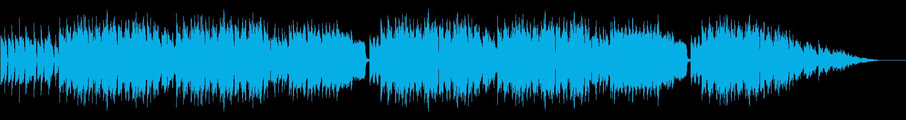 日常系ゆるいBGMの再生済みの波形