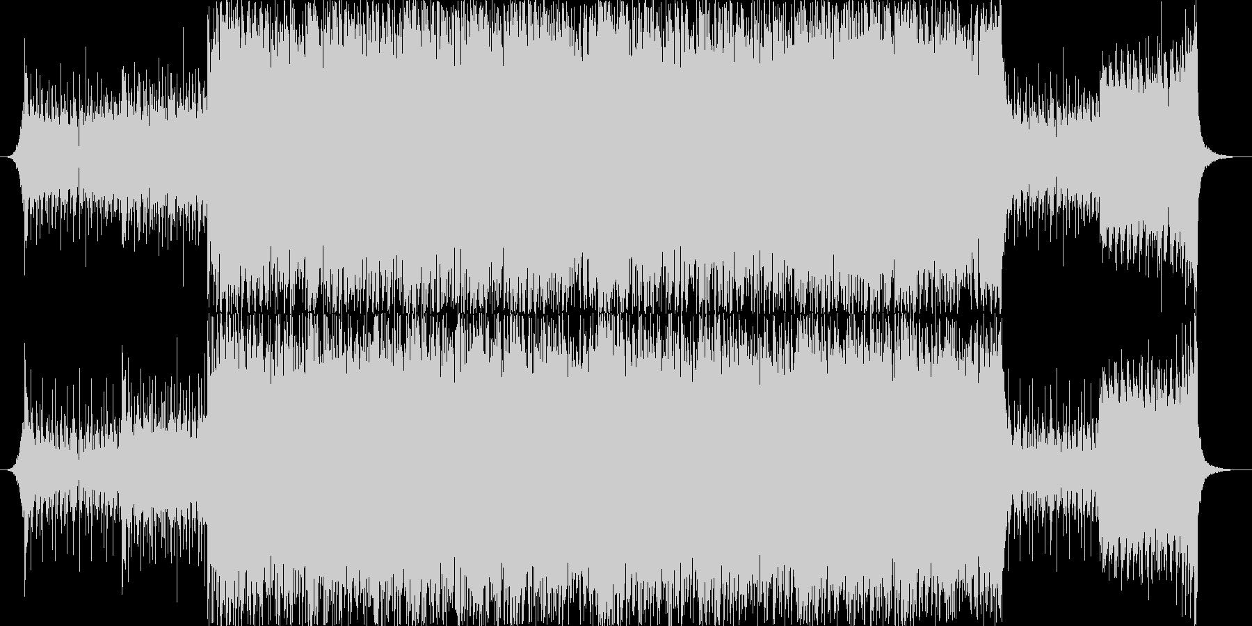 ジャジーなピアノおしゃれポップ4つ打ちaの未再生の波形