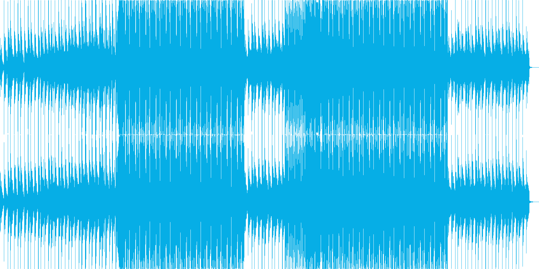 FutureBass1、洋楽、爽快、夏aの再生済みの波形