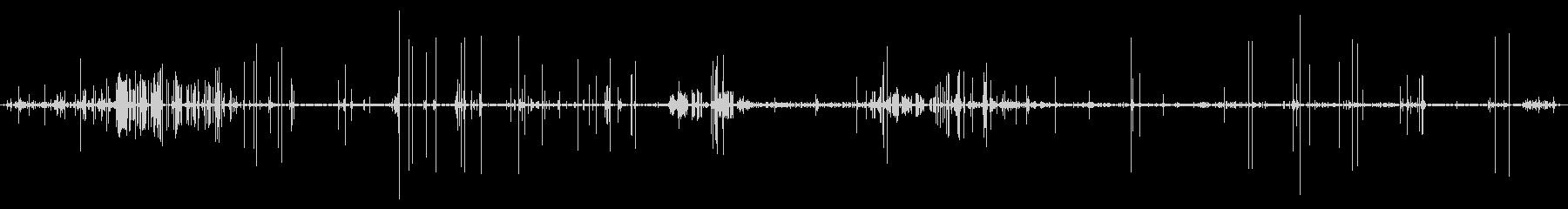 電子静電気およびスパークの未再生の波形