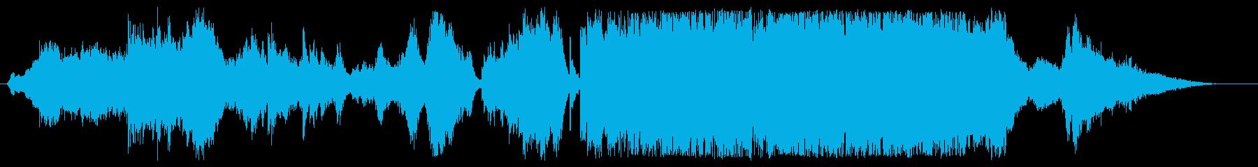 ハープが鮮やかなファンタジーの再生済みの波形