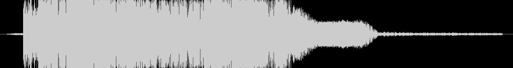 ズバッ!(剣で切る音)の未再生の波形