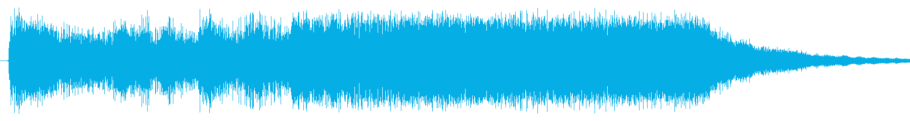 トランペットでちょっと派手目、キラキラ…の再生済みの波形