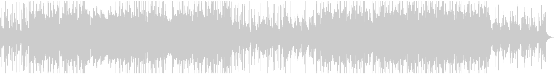 ソフトピアノメインLofi HipHopの未再生の波形