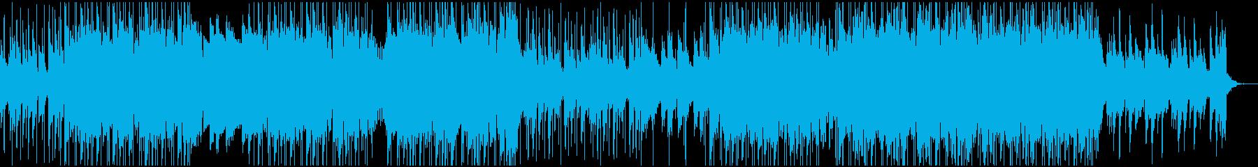 ソフトピアノメインLofi HipHopの再生済みの波形