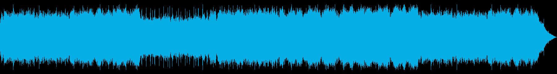 精霊たちの憩いのBGMの再生済みの波形