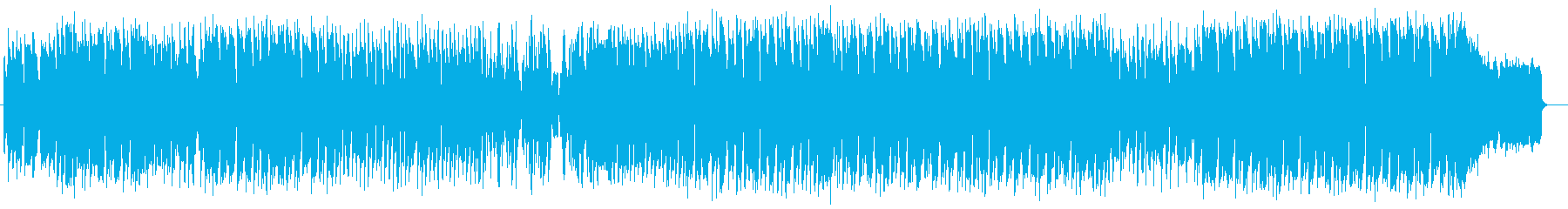 メローでキャッチ―なエレキサウンドの再生済みの波形