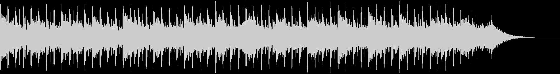 説明者の背景(40秒)の未再生の波形