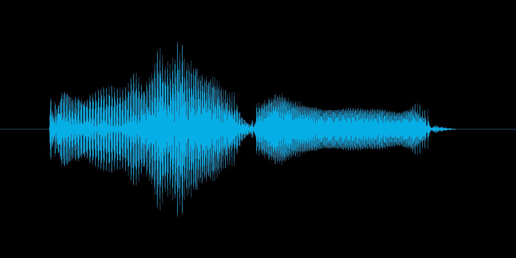 おわりにの再生済みの波形