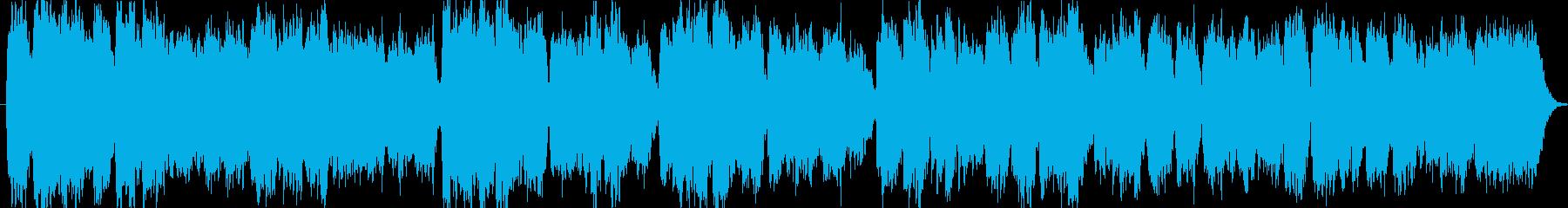 ノスタルジックでせつない木管三重奏です。の再生済みの波形
