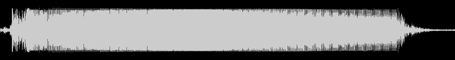 ギターメタルパワーコードzgの未再生の波形