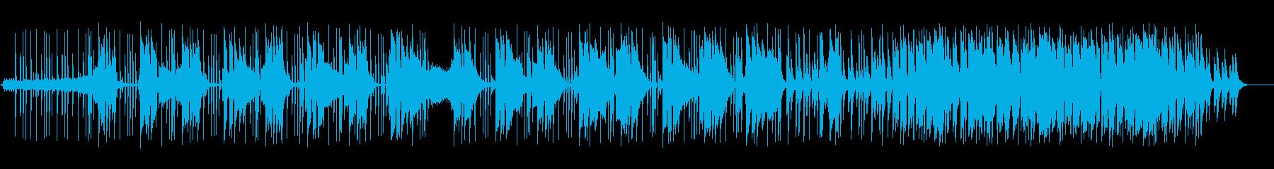 大人な雰囲気漂うヒップホップの再生済みの波形