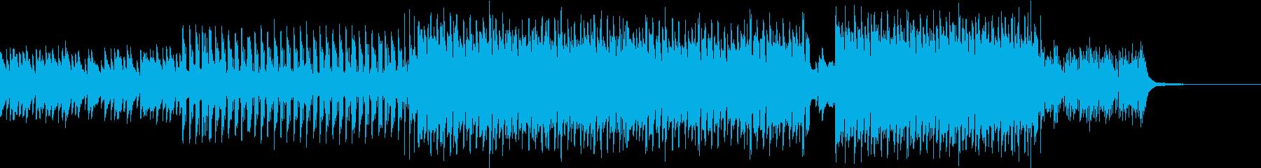 懐かしい夏の80年代風EDMの再生済みの波形