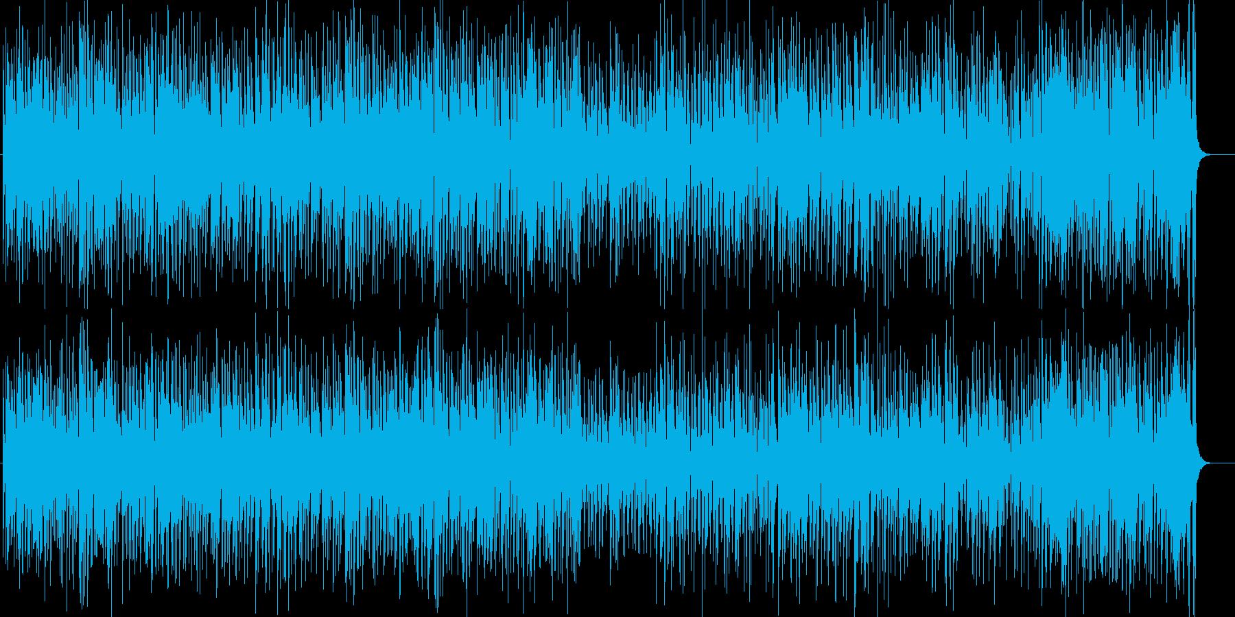 ピアノとパーカッションのサルサ。社交ダ…の再生済みの波形