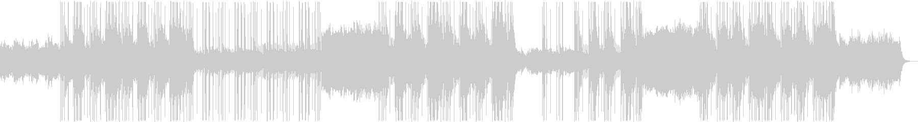 ダークでメロディックな洋楽トラップビートの未再生の波形