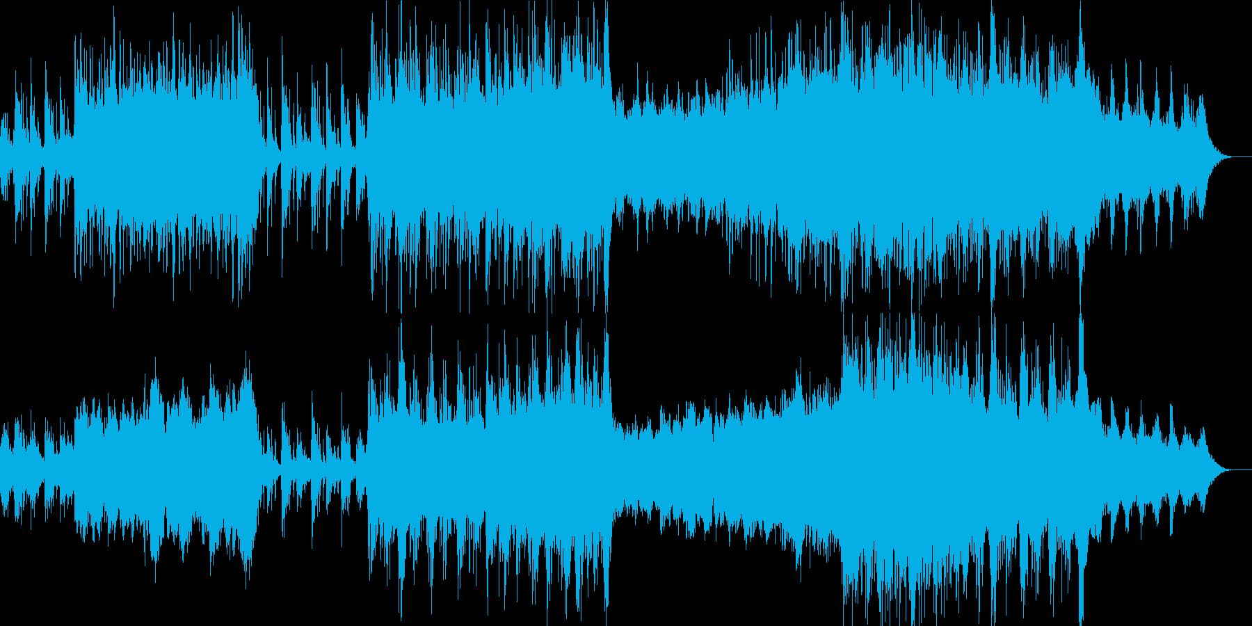 桜 せつない 和風 太鼓 琴 尺八の再生済みの波形