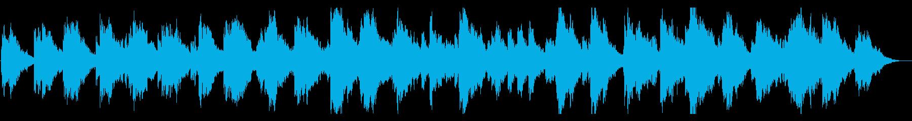 神秘的・ヨガ・ヒーリング 優しいエレピの再生済みの波形