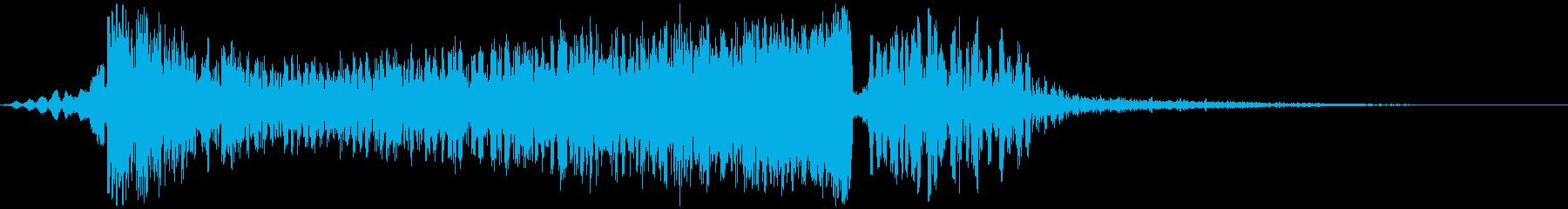 【映画】 TONAL_08 タイトルロゴの再生済みの波形