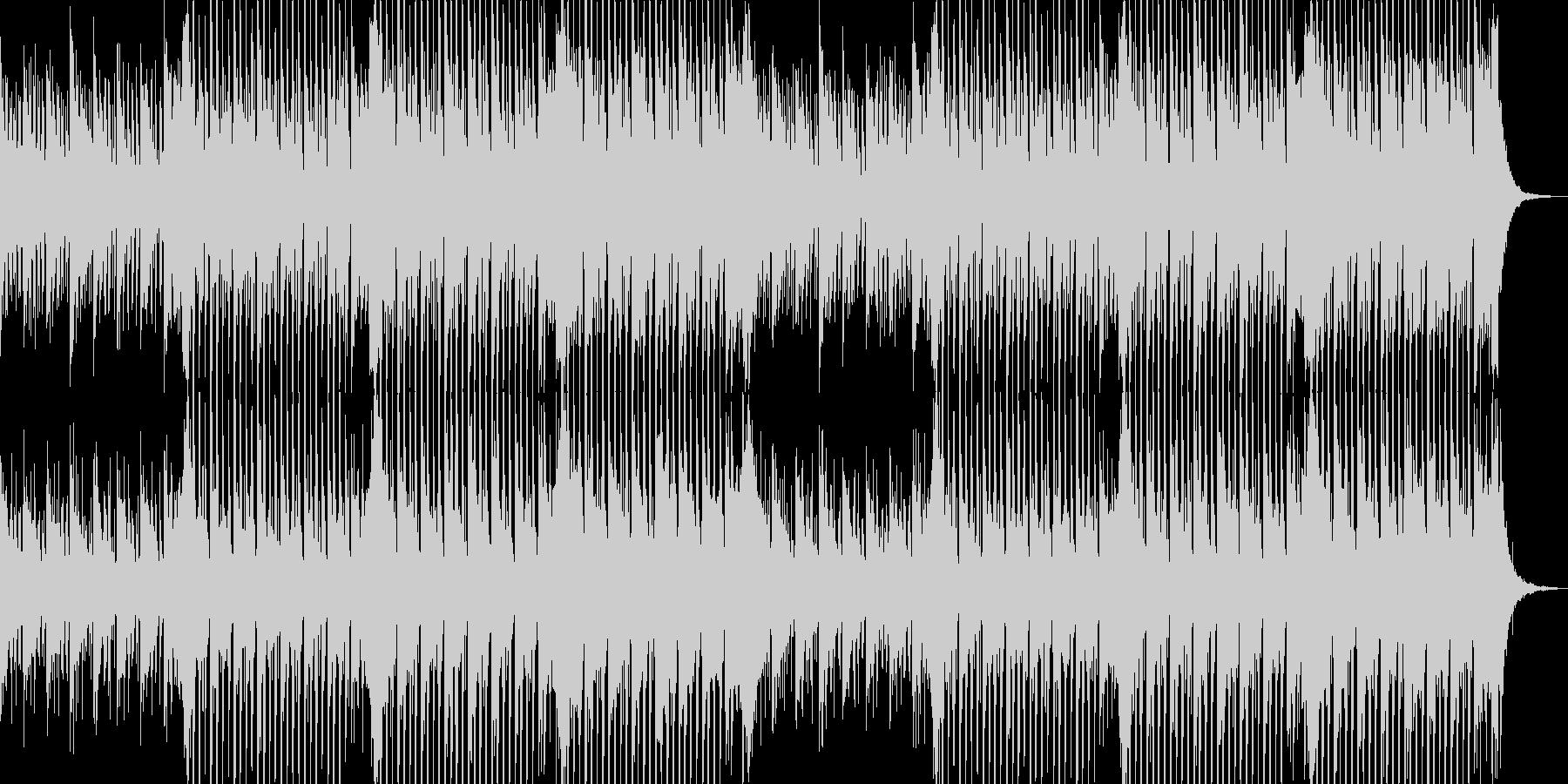 企業VP向け、爽やかポップ4つ打ち6-1の未再生の波形