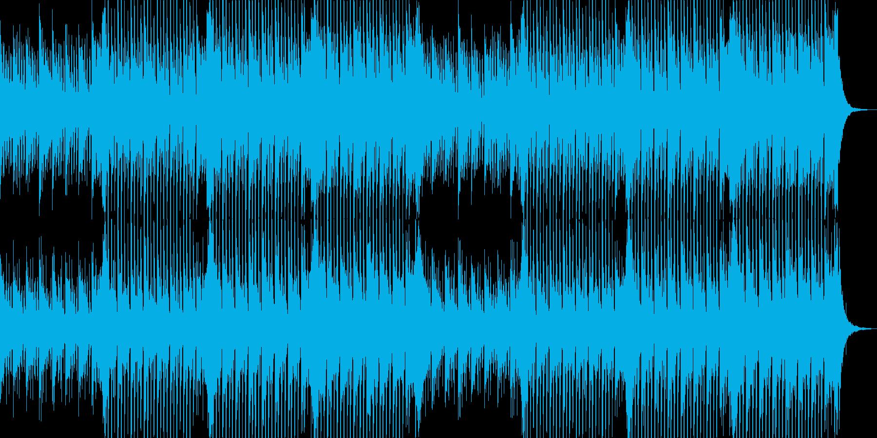 企業VP向け、爽やかポップ4つ打ち6-1の再生済みの波形