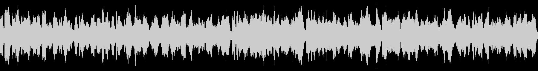 ファンタジー系の村癒やし曲の未再生の波形