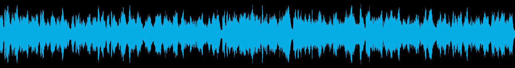 ファンタジー系の村癒やし曲の再生済みの波形