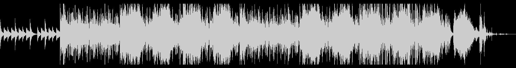 サスペンシブなトリップテクスチャの未再生の波形