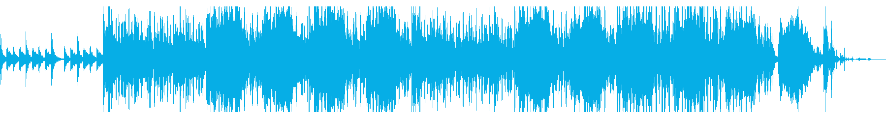 サスペンシブなトリップテクスチャの再生済みの波形