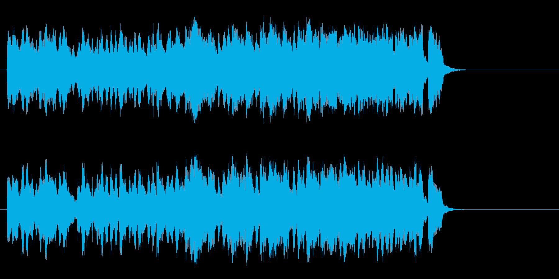 春を思わせるセミ・クラ(イントロ~サ…)の再生済みの波形