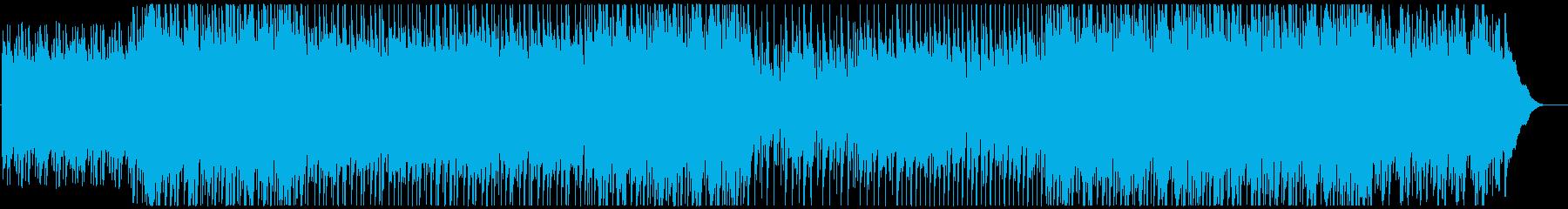 ピアノの旋律が未来を感じさせるポップスの再生済みの波形