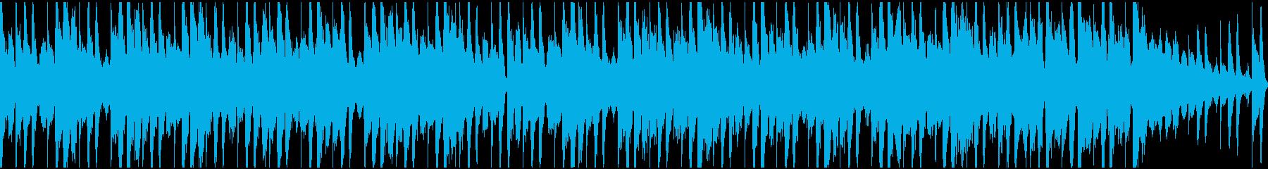 穏やかなジャジー・ヒップホップ ループの再生済みの波形